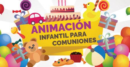 Animación infantil para comuniones