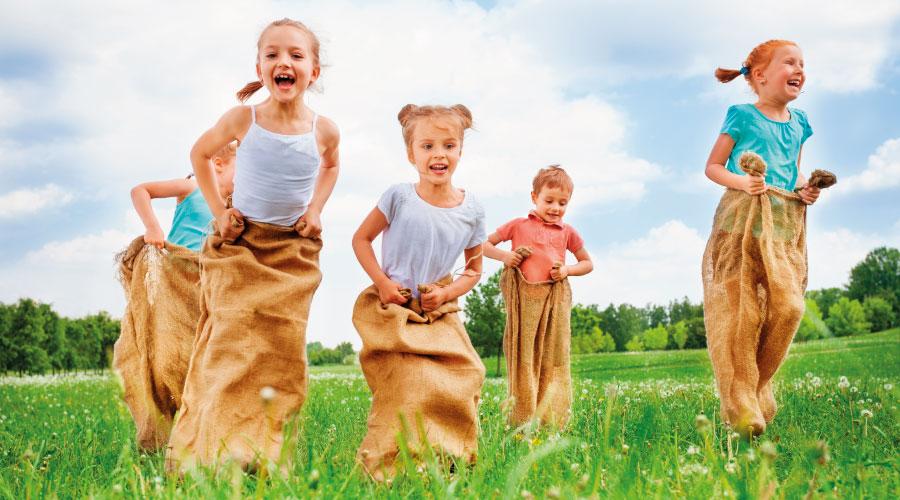 gymkhanas infantiles en Trebujena